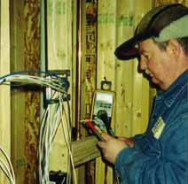 sec.photo.dave.test1 Open House Structured Wiring on